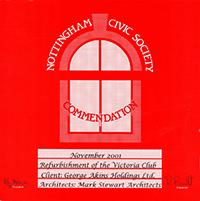 Civic Society - The Victoria Club - 2001