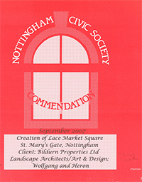 Civic Society - Lace Market Square - 2007